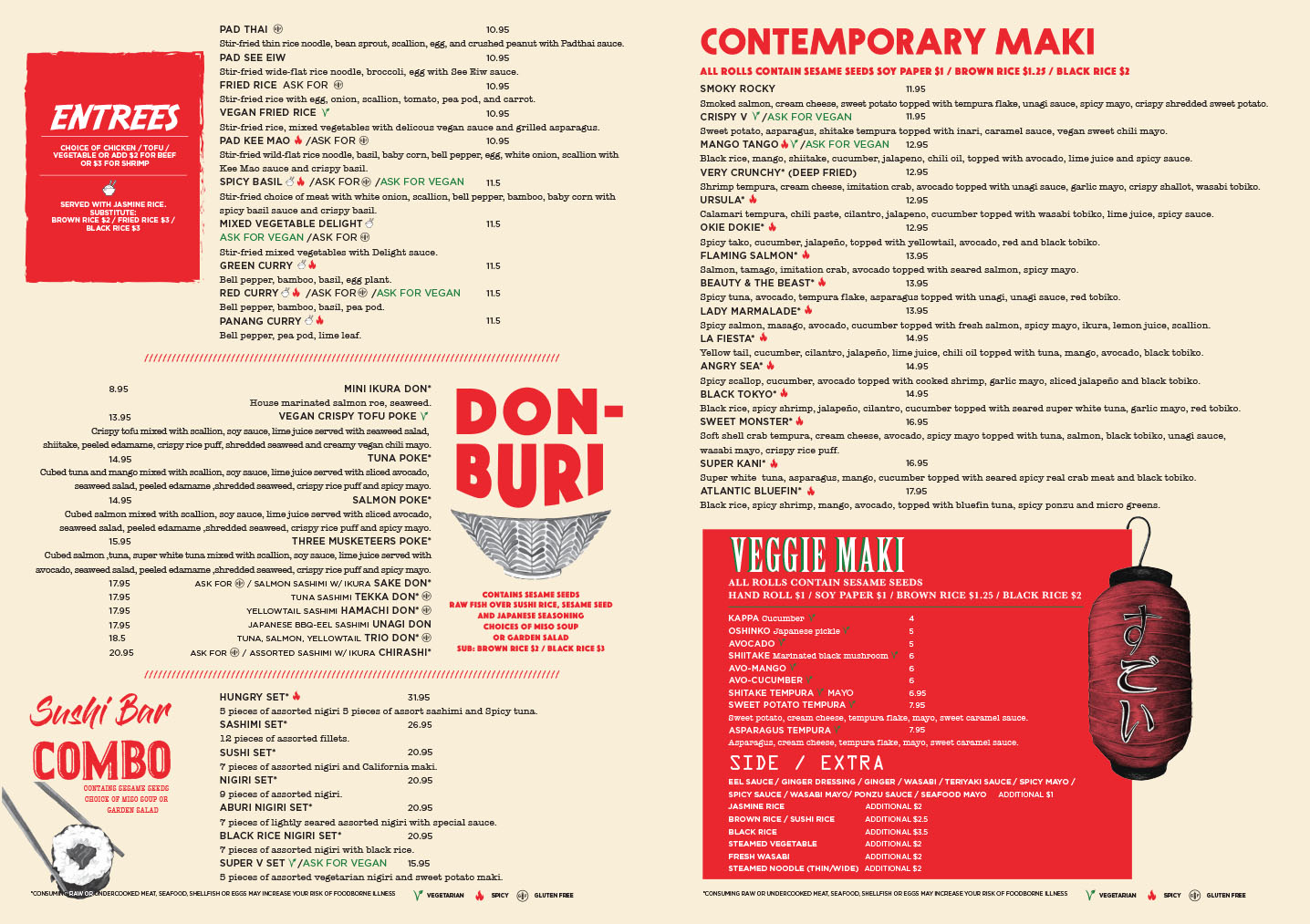 Click to see our menu full size